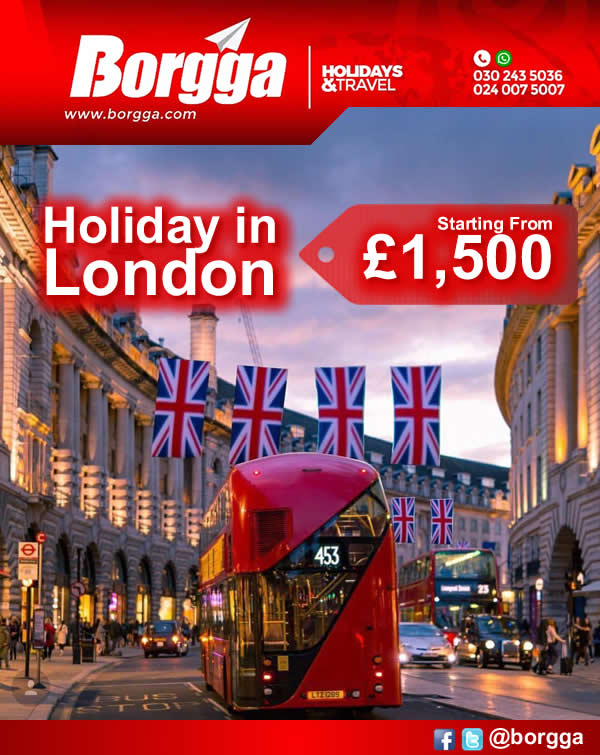 Holiday In London Borgga Holidays